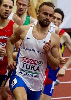 Amel Tuka Bosnian middle-distance runner