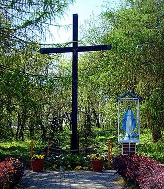 Leśno Górne - Leśno Górne, Christian cross