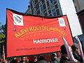 1. Mai 2013 in Hannover. Gute Arbeit. Sichere Rente. Soziales Europa. Umzug vom Freizeitheim Linden zum Klagesmarkt. Menschen und Aktivitäten (015).jpg