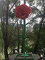 1090 Rossaußer Lände - Donaukanalradweg - Sommerstage Skulpturengarten - 50 Jahre Flower Power von Jacques Tilly 2018 IMG 7586.jpg