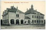 12988-Königsbrück-1911-Truppenübungsplatz, Wache und Post-Brück & Sohn Kunstverlag.jpg