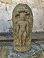 13th century damaged Jain statue stored with damaged Hindu statues in Somnathpur Kesava Hindu temple, Karnataka.jpg