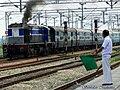 14265 passing Utraitia behind LKO WDM3D ^11189 - Flickr - Dr. Santulan Mahanta.jpg
