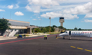 Campeche International Airport - Image: 15 07 15 Aeropuerto Internacional Ing Alberto Acuña Ongay Ralf R WMA 0914