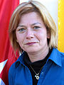 15h9i Aysun Erenalin, die Vorsitzende der Atatürk Gesellschaft Niedersachsen, hier bei der Mahnwache auf dem Klagesmarkt in Hannover zu den Protesten in der Türkei 2013.jpg