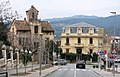 164 Torre Iris i casa Ramos, des del c. Figueral (la Garriga).JPG