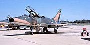 166th Tactical Fighter Squadron - North American F-100F-5-NA Super Sabre 56-3740