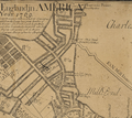 1769 WestEnd Boston map WilliamPrice.png