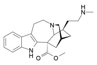 18-Methylaminocoronaridine - Image: 18 MAC structure