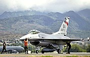 182d Fighter Squadron - F-16 Hawaii