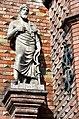 1830 Standbild des Arztes Hippokrates von Kos (Bildhauer Bernhard Wessel) für den Vorgängerbau der Ratsapotheke in Hannover von August Heinrich Andreae.jpg