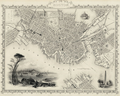 1838 Boston map byJohnTallis M8774.png