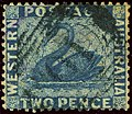 1861ca 2d Western Australia numeral 10 Yv10 SG41.jpg