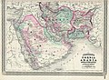 1870 Johnson Map of Turkey, Persia, Arabia, Balochistan.jpg