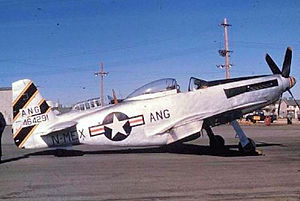 188th Rescue Squadron - F-51H-5-NA Mustang 44-64291 from the 188th Fighter Squadron, New Mexico Air National Guard.