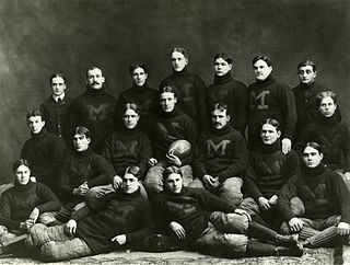 1898 Michigan Wolverines football team football team of the University of Michigan during the 1898 season