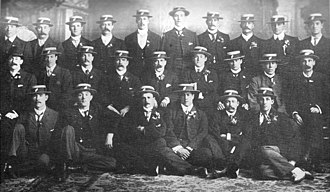 1903 New Zealand rugby union tour of Australia - Official photo of the touring team