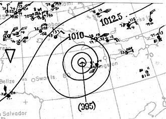 1912 Atlantic hurricane season - Image: 1912 Atlantic hurricane 7 November 18