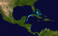 1913 Atlantic hurricane 6 track.png