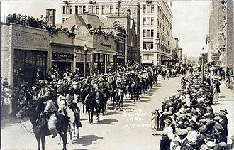 Calgary Stampede - 1923 Stampede parade