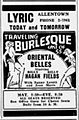 1938 - Lyric Theater Ad - 19 Mar MC - Allentown PA.jpg