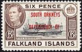 1944 FID South Orkneys 6d stamp.jpg