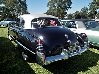 Car tailfin - The tailfin was first introduced on the 1948 Cadillac