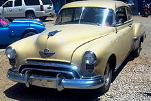 oldsmobile 88 wikipediaChassis Wiring Diagram For The 1949 Oldsmobile 76 Series Without Turn Signal #9