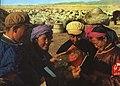 1968-01 1967年 内蒙古民众学习毛泽东文选.jpg