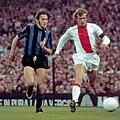 1971-72 European Cup Final - AFC Ajax v Inter Milan - Mauro Bellugi & Piet Keizer.jpg