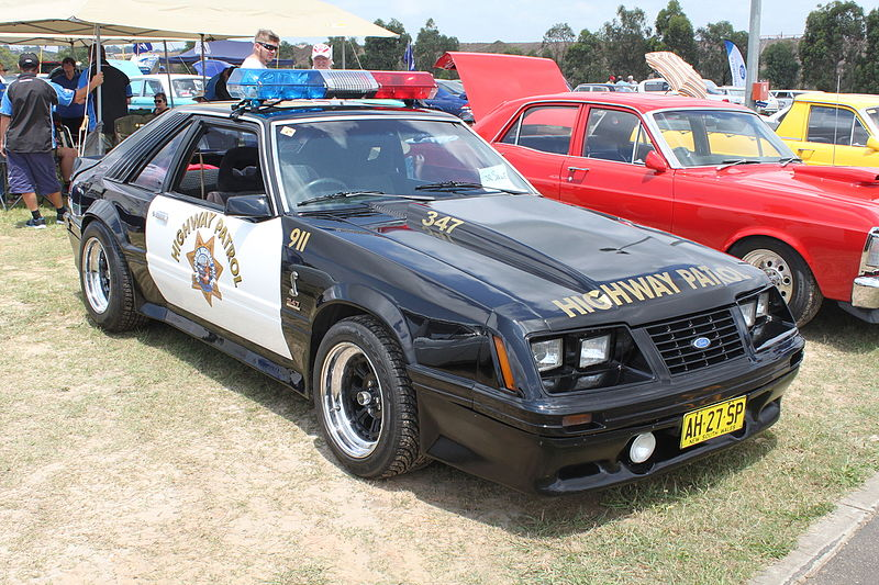File:1983 Ford Mustang Police Interceptor (23715990962).jpg