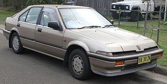 Rover (marque) - 1986 Rover 416i (Australian market)