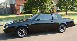 GM G platform (1969) - Image: 1987 Buick Grand National