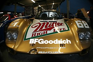 Michael Andretti - Michael and Mario's 1989 Porsche 962 driven in the 24 Hours of Daytona.