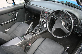 Mazda MX-5 - Interior.