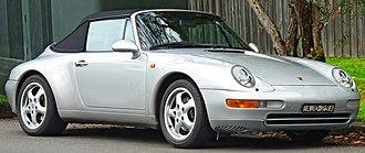 Porsche 993 - 1994–1997 Porsche 911 Carrera (993) cabriolet (Australia)