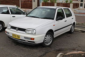 1998 Volkswagen Golf (1H) CL 5-door hatchback (23245280106).jpg