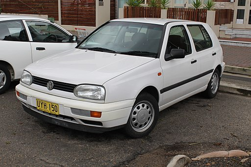 1998 Volkswagen Golf (1H) CL 5-door hatchback (23245280106)