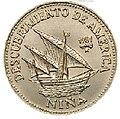 1 песо. Куба. 1981. 500 лет открытию Америки - Нинья.jpg