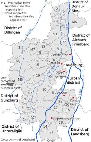 Augsburg district Wikipedia