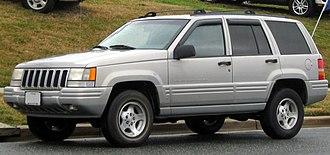Jeep Grand Cherokee (ZJ) - 1996–1998 Jeep Grand Cherokee