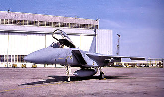 1st Fighter Wing - First F-15A arrives at Langley AFB, January 1976