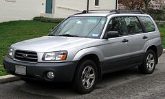 Subaru Forester II przed liftingiem