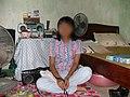 2003 Hanoi, student in her room .jpg
