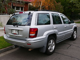 Jeep Grand Cherokee - Second generation (WJ) 1999 - 2004