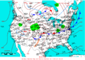2005-04-21 Surface Weather Map NOAA.png