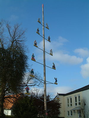 Obersülzen - Guild pole