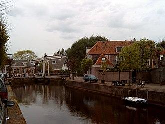 Hasselt, Overijssel - Image: 2007 04 23 17.55 Hasselt, zicht op gracht foto 1