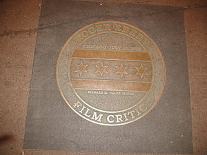 Chicago Theatre - Mayor Daley's Roger Ebert Day award