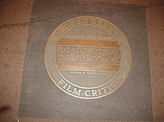 Chicago Theatre - Mayor Daley's Roger Ebert Day award